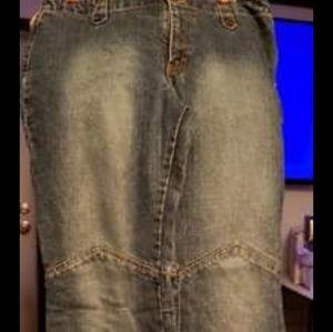 Vintage Girl's junior jeans